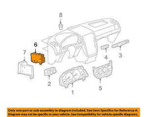 2008 hhr body control module location