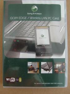 sony ericsson edge pc card gc89 driver