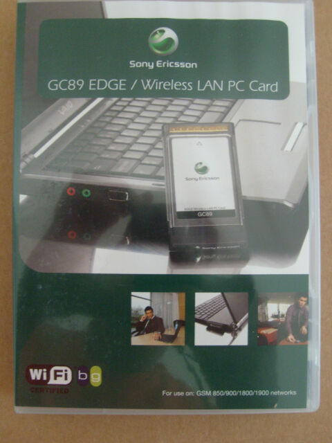 SONY ERICSSON EDGE PC CARD GC89 DRIVER FOR WINDOWS MAC