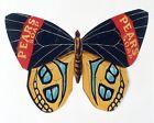 Pears' Mariposa Anuncio Vintage Esmalte Metal Placa de pared