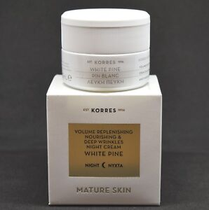 Korres-White-Pine-Night-Cream-Mature-Skin-40-ml-1-35-Fl-Oz