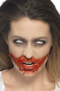Halloween-Fake-Blood-amp-Liquid-Latex-Kit-Special-FX-Make-Up-Zombie-Fancy-Dress