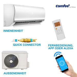 comfee MSAF5-09HRDN8-QE Split-Klimaanlage Quickconnector Kühlen A++ Heizen A+