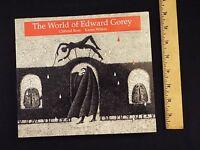 New-the World Of Edward Gorey By Clifford Ross & Karen Wilkin (2002,paperback)