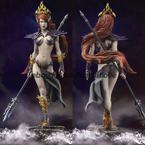 Unpainted-Resin-Figure-Model-Fantasy-Sexy-Female-Warrior-Garage-Kit-Unassembled