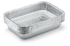 Weber 6415 Small 7-1/2-inch-by-5-inch Aluminum Drip Pans Set of 10