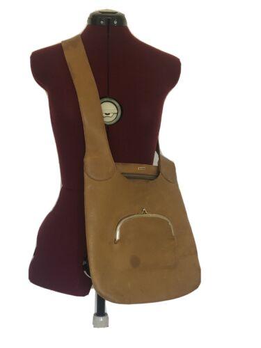 Vintage Bonnie Cashin Kisslock Crossbody Leather P