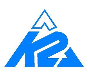 K2 snowboard vintage window sticker