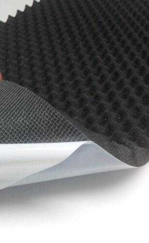 Acústica espuma tachas espuma de aislamiento autoadhesivas 100x50cm de recorte