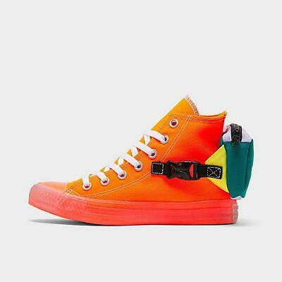 Details about Converse Chuck Taylor All Star Neon Jelly Buckle Up HighTop Guaranteed Authentic