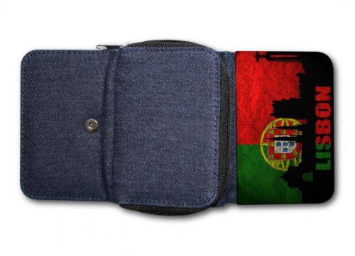 Damen Tasche Geldbörse Portemonnaie Portugal Lissabon 1