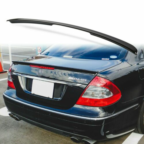 Painted ABS Trunk Spoiler For Mercedes Benz W211 A type 03-09 E-Class Black 040
