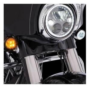 Chrome Fang Rear LED Signal Light Inserts