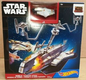DISNEY-Hotwheels-STAR-WARS-Rebels-Transport-Attack-Set