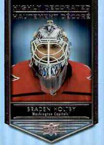 2019-20-Upper-Deck-Tim-Hortons-Hghly-Decorated-Braden-Holtby-HD14