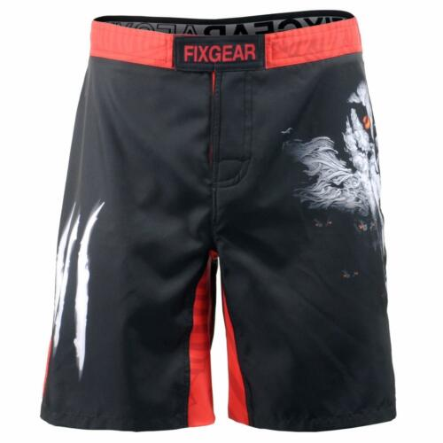 FIXGEAR FMS-18 MMA Graphic Shorts for Men Workout Training Fitness
