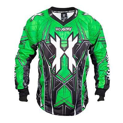 * Nuovo * Hk Army Hstl Linea Paintball Jersey-neon Verde-mostra Il Titolo Originale