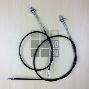 Details about Front and Rear Brake Cable Yamaha PW50 1981-2018  PW Piwi  Peewee PY 50 PY50