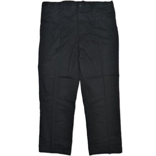 44 5XL NEW TARGET MR BIG PLUS SIZE MENS BLACK CHINO DRESS PANTS SIZE 112
