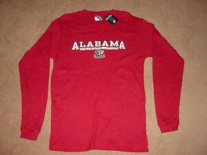 BAMA-Alabama-CRIMSON-TIDE-long-sleeve-T-Shirt-NEW-TAGS-XXLarge-XXL-2XL