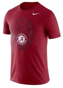 6e0c32b342e4 Alabama Crimson Tide Mens Nike Football Icon Dri-Fit Cotton T-Shirt ...