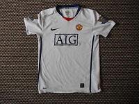 Manchester United Extra Large Boys 13/14 Yrs 158 - 170 cm Away football Shirt