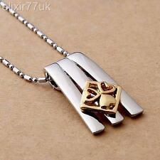SILVER FASHION CHARM CHAIN & PENDANT NECKLACE RETRO BOHO URBAN VINTAGE HOT GIFT