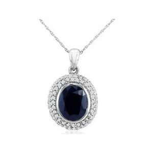 14K-WHITE-GOLD-4CT-OVAL-GENUINE-SAPPHIRE-AND-DIAMOND-PENDANT-WITH-18-034-CHAIN