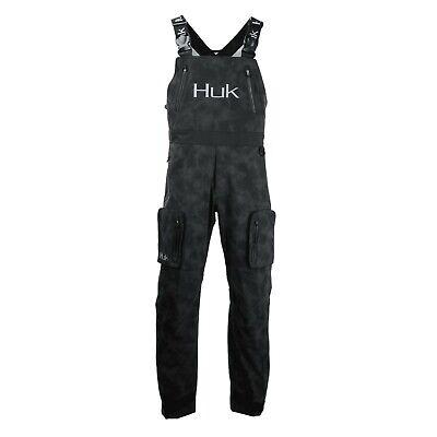 Huk Men/'s Leviathan Waterproof /& Reflective Fishing Bibs H4000026