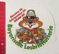 Aufkleber/Sticker: Bayerische Losbrieflotterie (060516160)