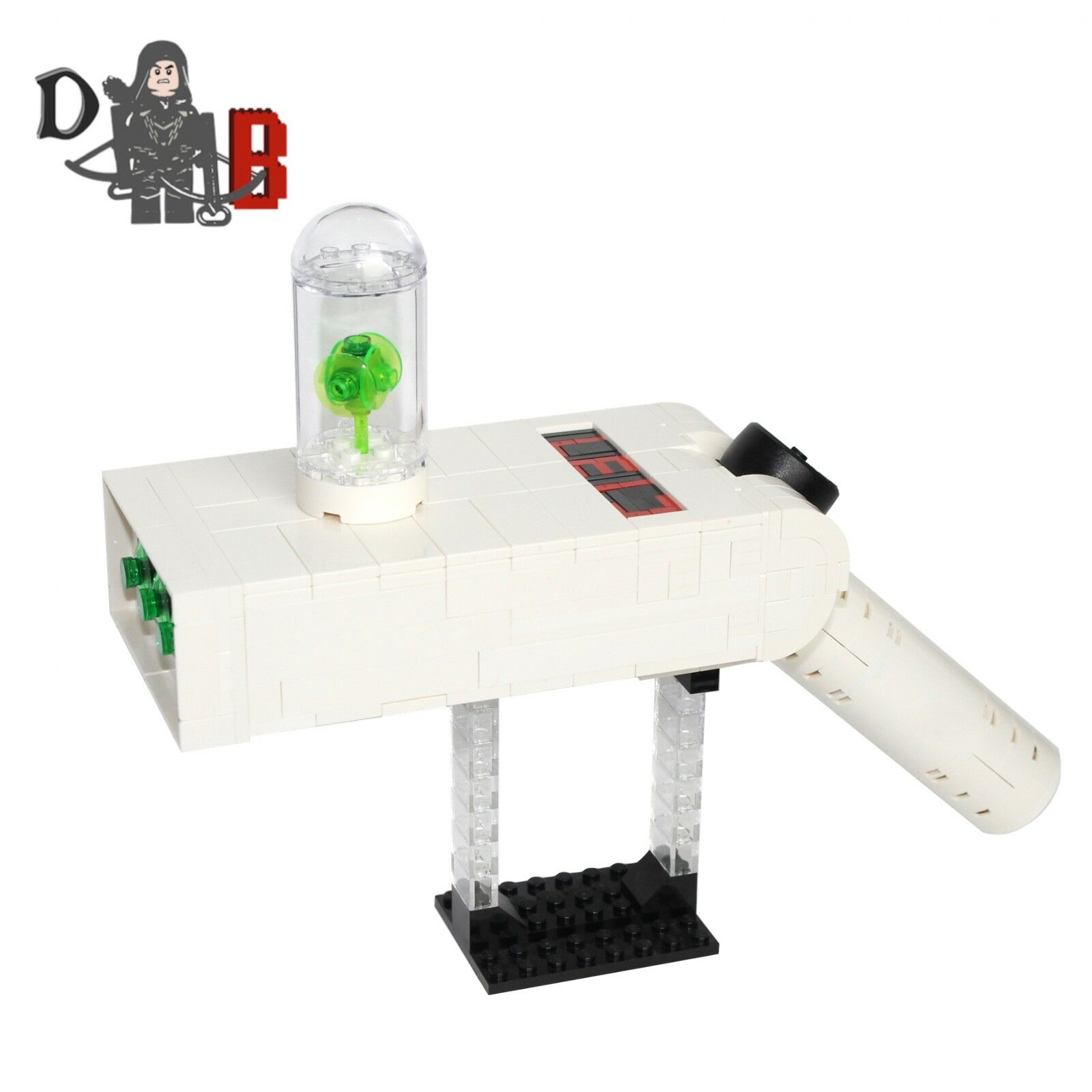 Rick's Lego Rick And Faites Gun Custom Avec Morty Portal DIWE2YH9