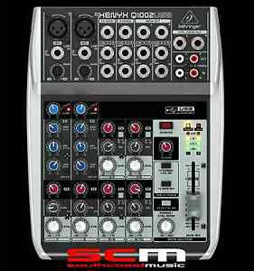 BEHRINGER-XENYX-Q1002USB-MIXER-AND-USB-AUDIO-INTERFACE-BRAND-NEW-with-WARRANTY