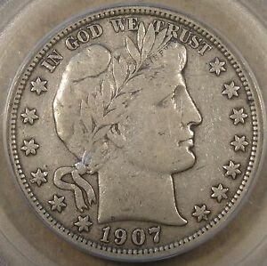 1907-S-Barber-Half-Dollar-50c-PCGS-Certified-VF30