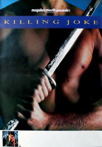 KILLING-JOKE-1985-Tourplakat-Love-Like-Blood-Night-Time-Tourposter