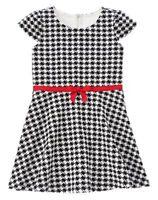Gymboree Olivia Black And White Checker Dress 4 7 Girls