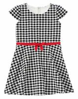 Gymboree Olivia Black And White Checker Dress 4 7 Girls