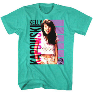 dcb3fa71 Details about Saved by the Bell Kelly Kapowski Retro Men's T Shirt Tiffani  Amber Thiessen TV