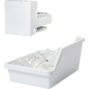 G-E-All-Inclusive-Ice-Maker-Kit-w-Ice-Bucket-Fill-Tube-Water-Valve-Hardware