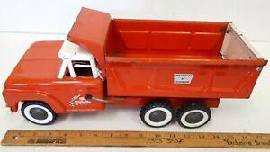 1950-039-s-034-LI-039-L-BEAVER-034-Dump-Truck-Pressed-Steel-Made-in-Canada-RARE