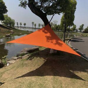 Details Zu Dreieck Wasserfest Schirm Segel Sonnenschirm Baldachin Fur Garten Praktisch