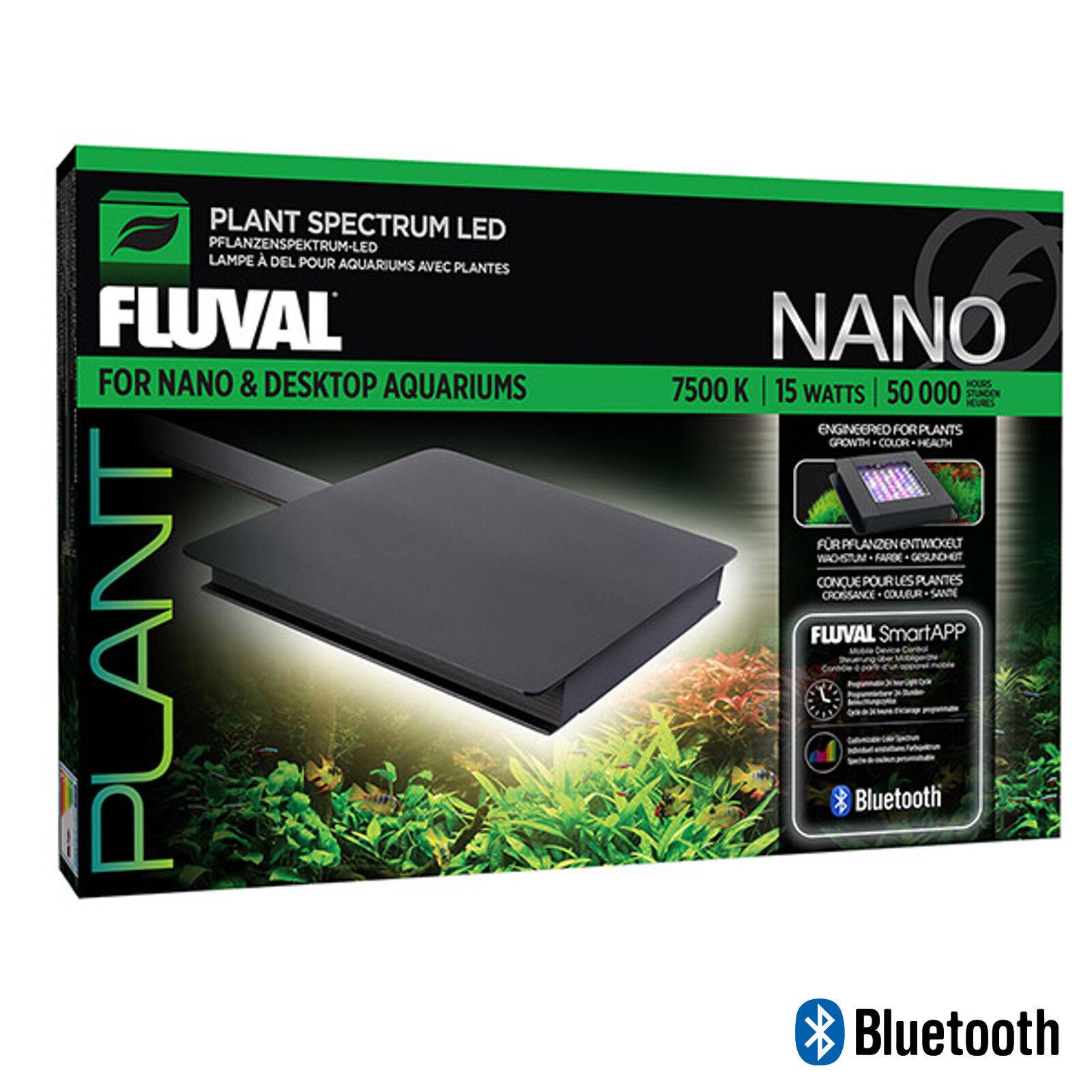 NUOVO IMPIANTO FLUVAL Nano Bluetooth LED 15W 12.7 x 12.7cm