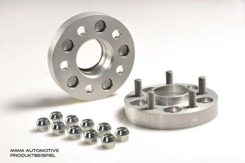 H /& r DRM ensanchamiento 36//40mm set Opel Astra J círculo de agujeros de 5//115 distanzscheib