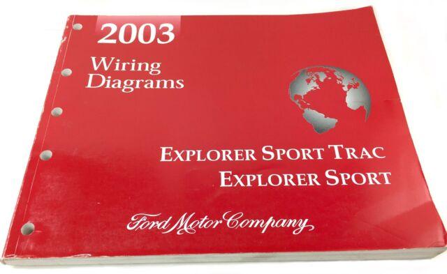 2003 Ford Explorer Sport Trac Explorer Sport Oem Evtm
