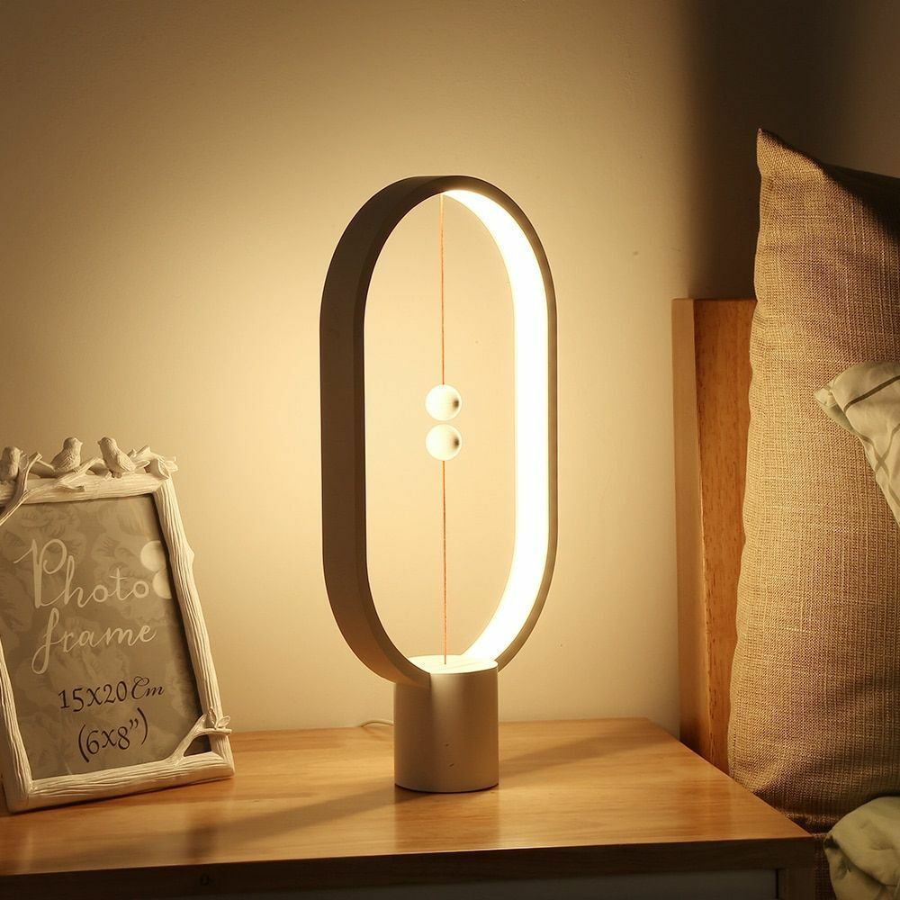 LED Light Balance Lamp Indoor Table Night Light Decoration Eye Protection