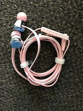Pink Monster Beats by Dr. Dre Diddybeats In-Ear Headphones w/ ControlTalk