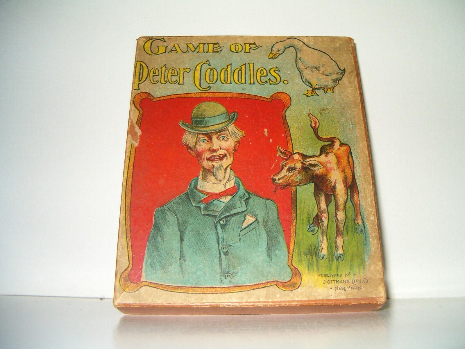 Jeu de Peter coddles J. Ottman Co. Années 1890