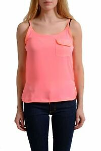 Top S Pink Versus Ebay Versace Blouse Ladies Bright 40 Uk Italian f0XwwxZ
