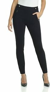 Rekucci Womens Ease into Comfort Soft Knit Classic Straight Leg Pant