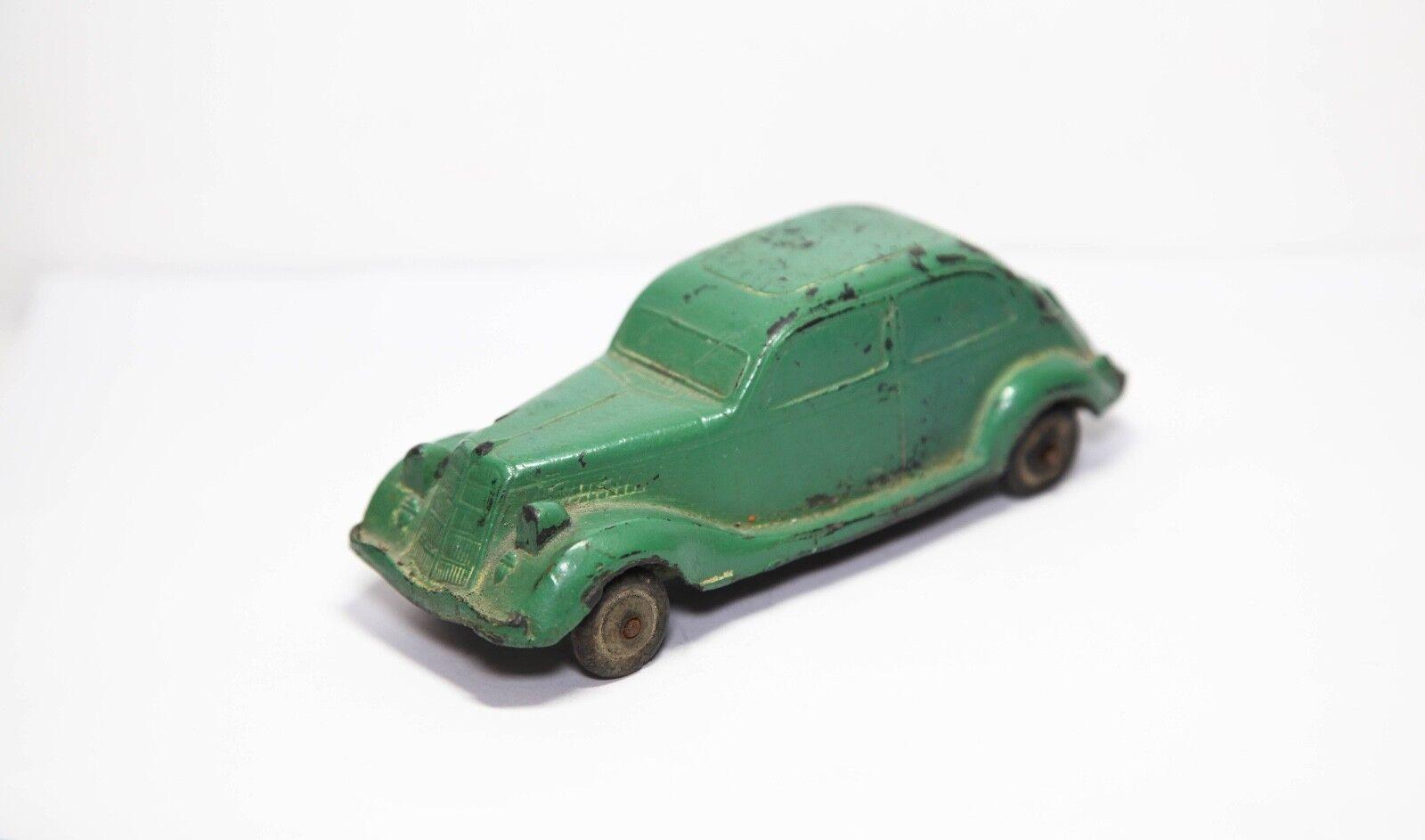 0717 jouets en caoutchouc dur bakélite rationalisée Berline 1940-avant guerre très rare