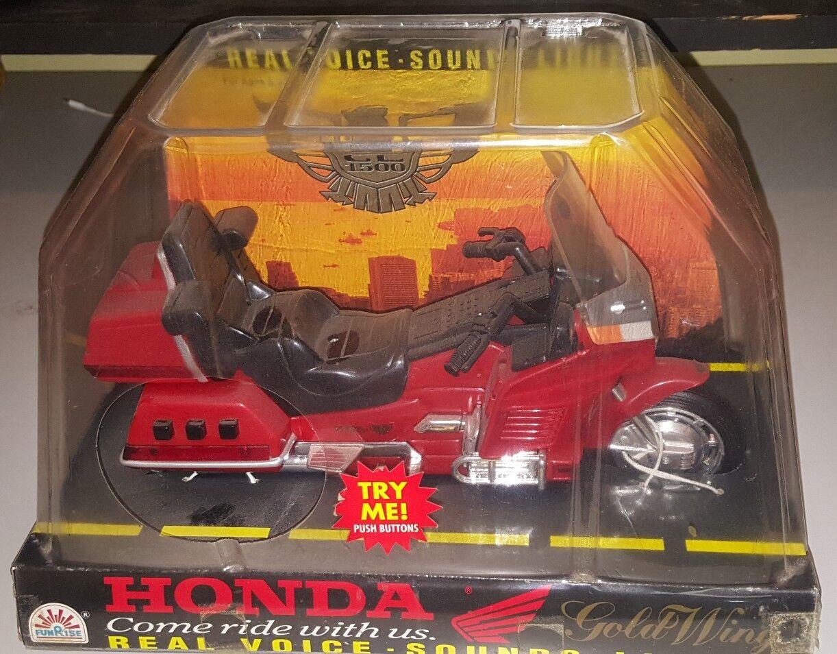 Nos Vintage Electronic Funrise Honda goldwing Motorcycle Toy New Lights & Sound